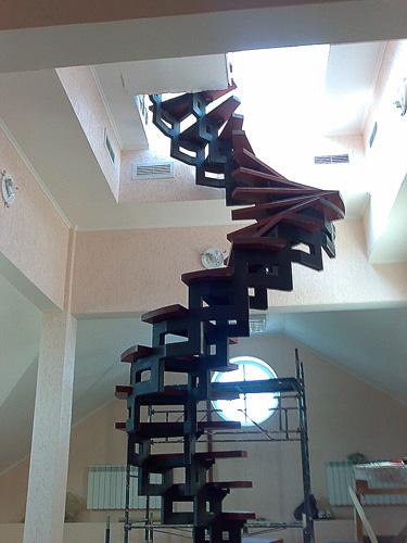 Именно винтовые лестницы